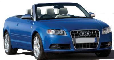Photo du design extérieur de la Audi S4 Cabriolet
